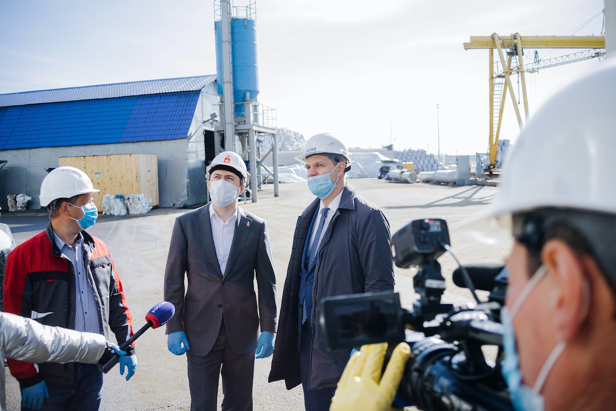 "Investment projects at UZPM were praised as ""high priority"" for the region by the Governor of Perm Territory"